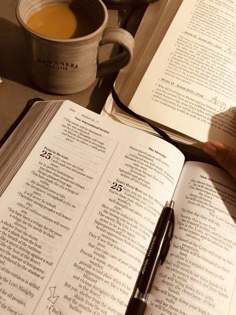 bible morning routine