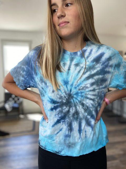 tie dye teen activity